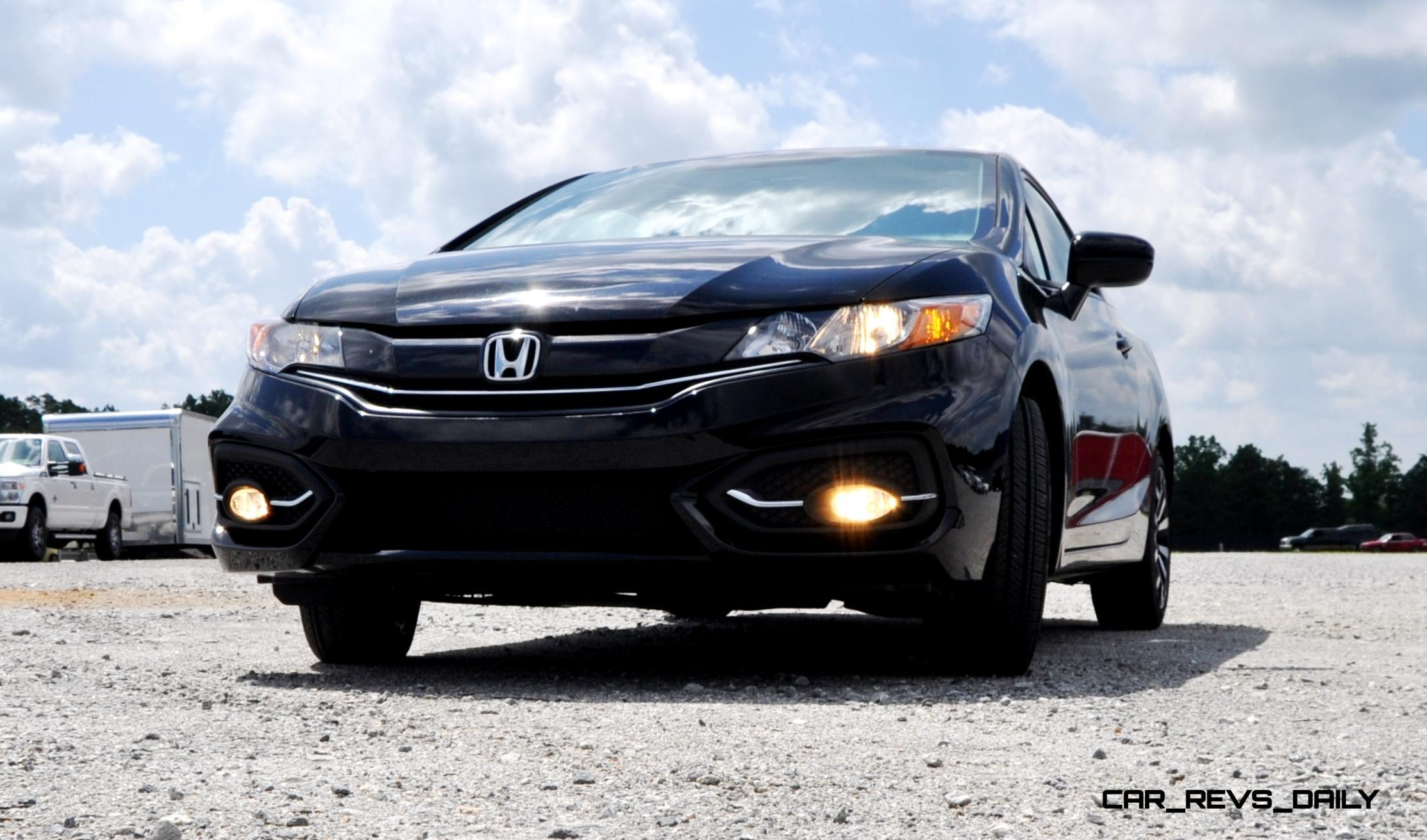 Road test of a 2015 honda civic ex autos post for B1 service honda civic