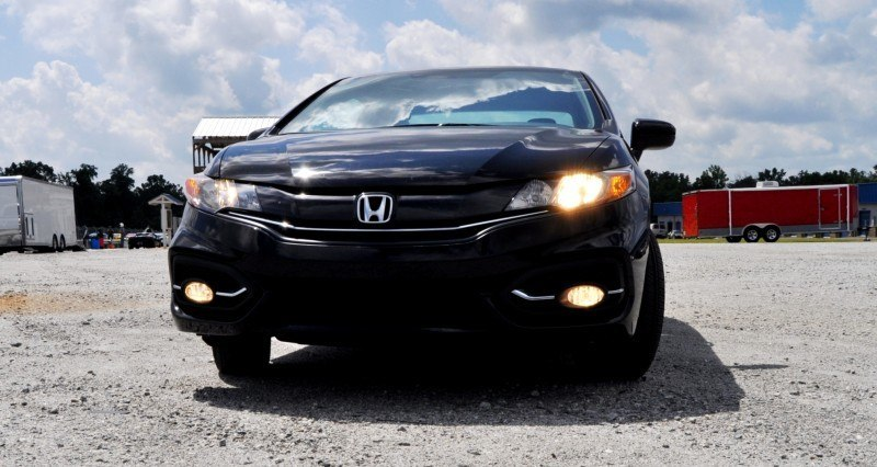 Road Test Review - 2014 Honda Civic EX-L Coupe 34