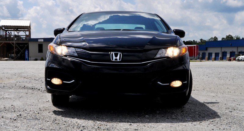 Road Test Review - 2014 Honda Civic EX-L Coupe 38