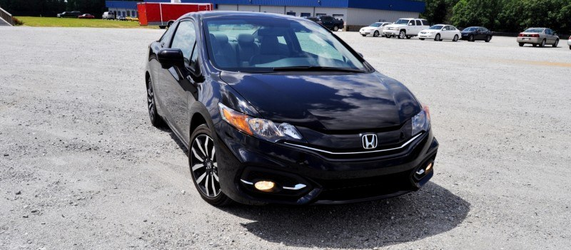 Road Test Review - 2014 Honda Civic EX-L Coupe 41