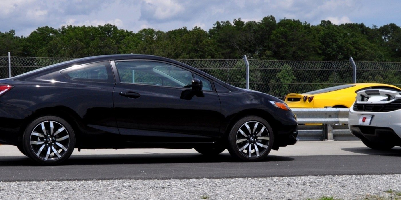 road test review 2014 honda civic ex l coupe 61. Black Bedroom Furniture Sets. Home Design Ideas