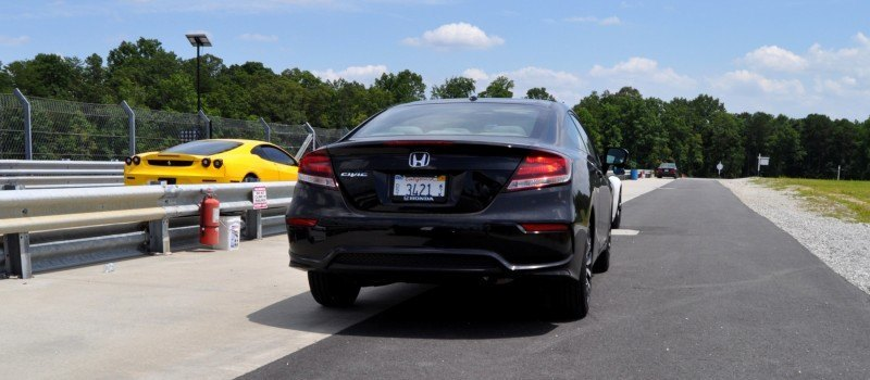 Road Test Review - 2014 Honda Civic EX-L Coupe 67