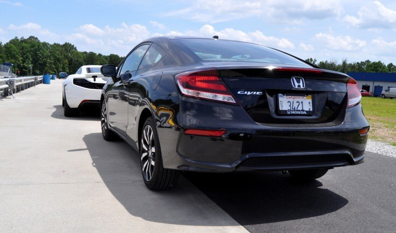 Road Test Review - 2014 Honda Civic EX-L Coupe 69