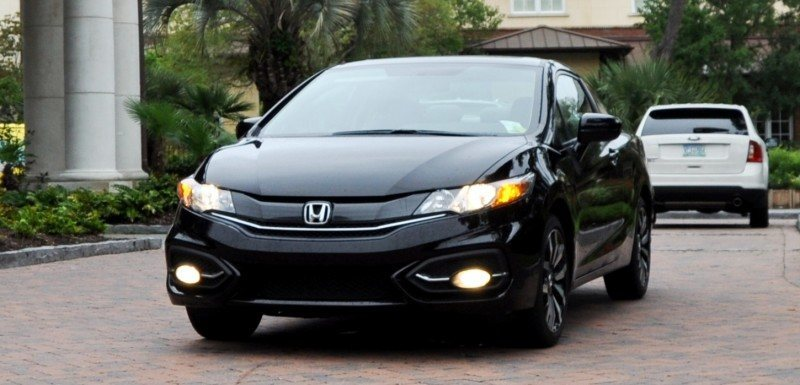 Road Test Review - 2014 Honda Civic EX-L Coupe 73