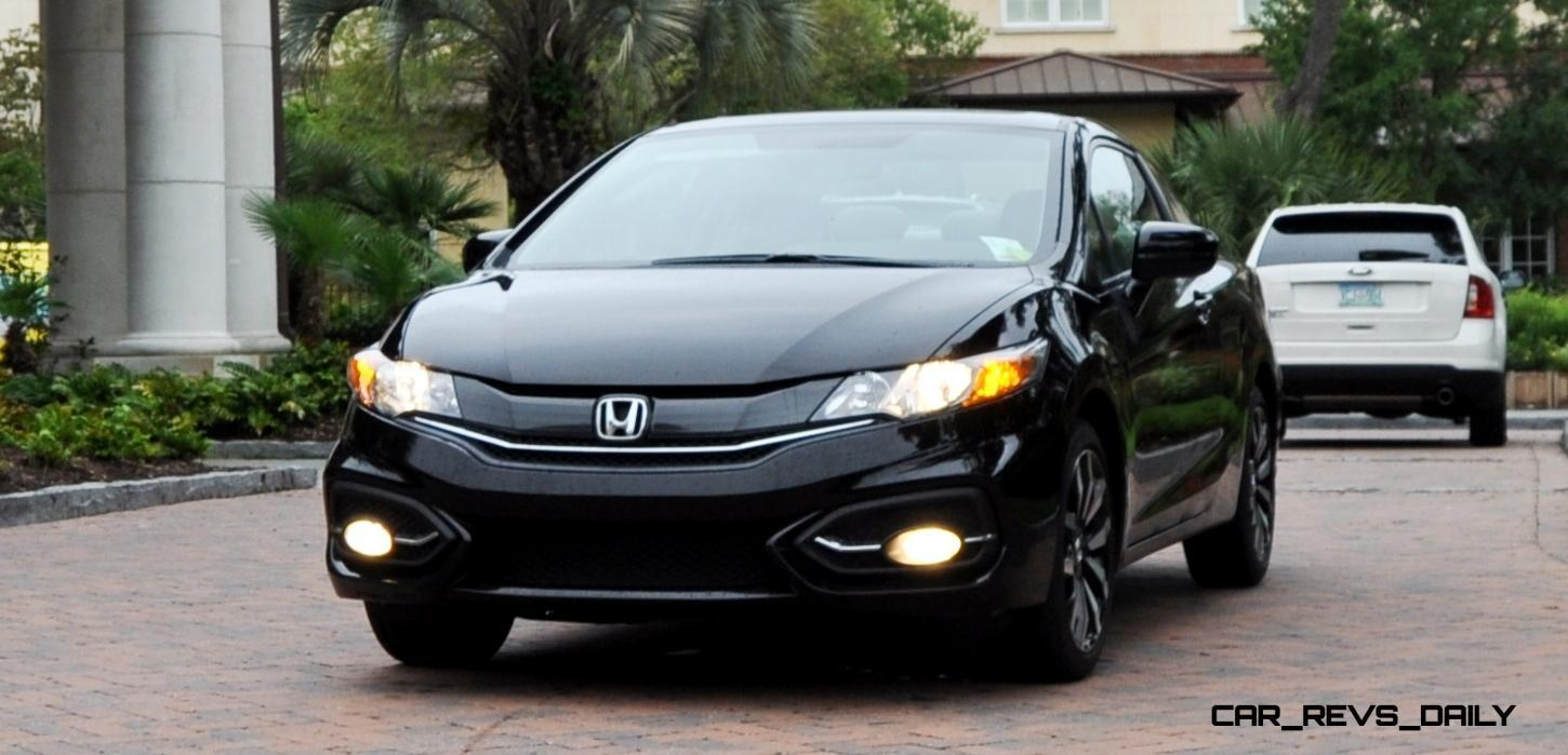 road test review 2014 honda civic ex l coupe 73. Black Bedroom Furniture Sets. Home Design Ideas