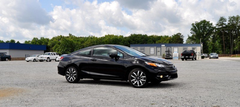 Road Test Review - 2014 Honda Civic EX-L Coupe 8