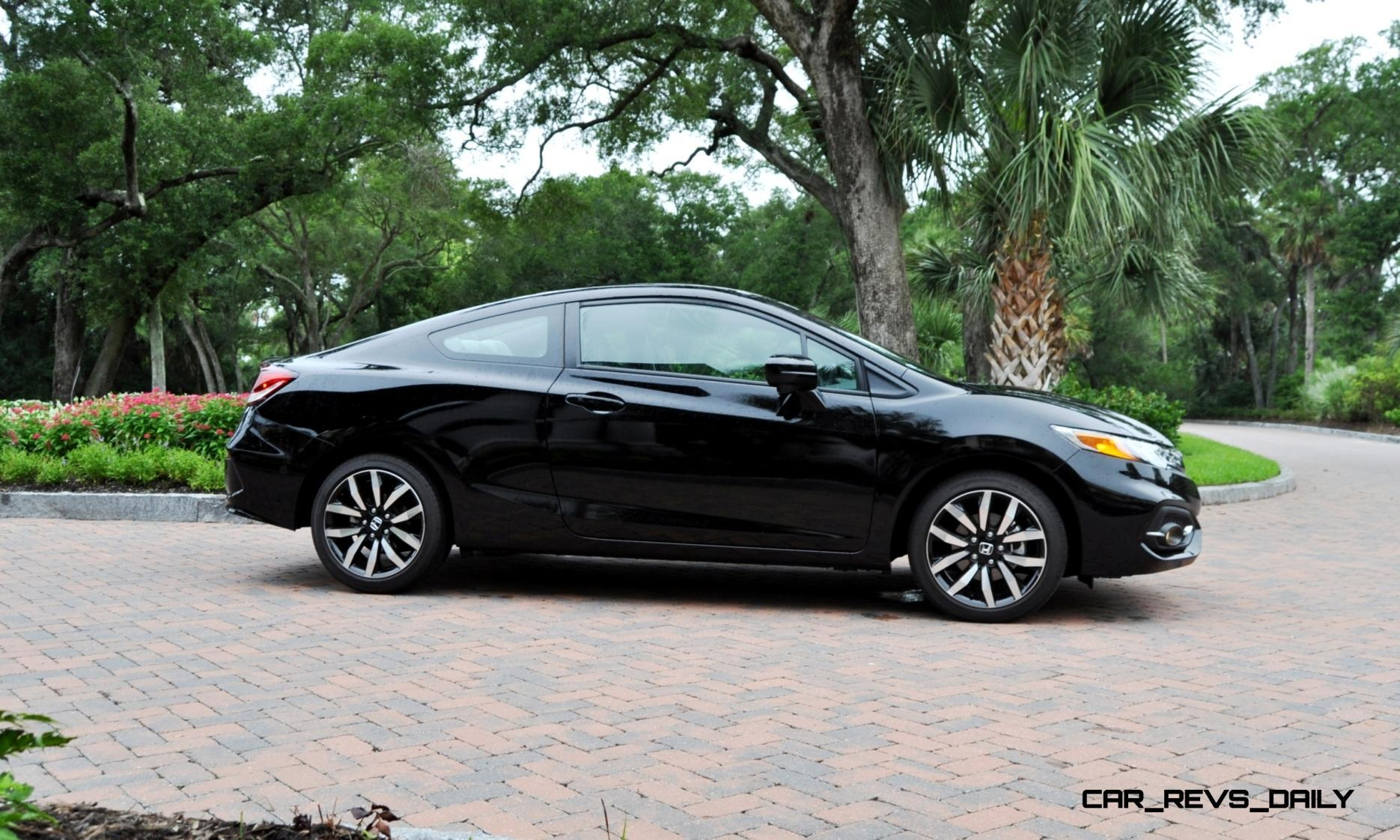 road test review 2014 honda civic ex l coupe 83. Black Bedroom Furniture Sets. Home Design Ideas
