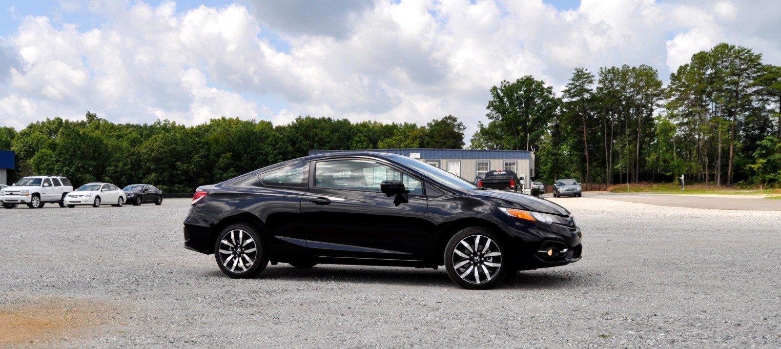 road test review 2014 honda civic ex l coupe 117 car. Black Bedroom Furniture Sets. Home Design Ideas