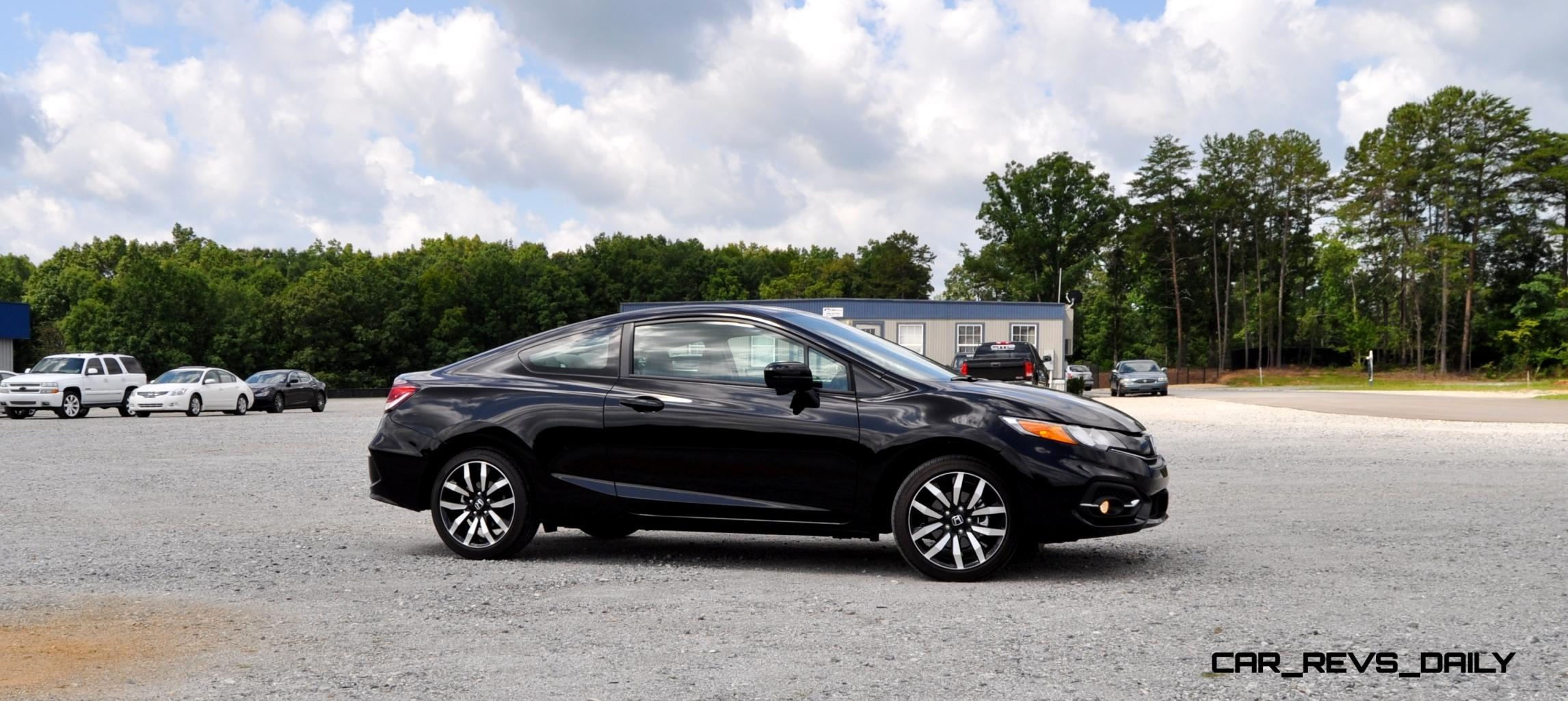 Road test review 2014 honda civic ex l coupe 9 for Honda civic ex 2014