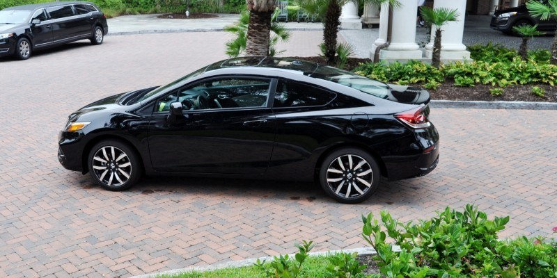 Road Test Review - 2014 Honda Civic EX-L Coupe 93