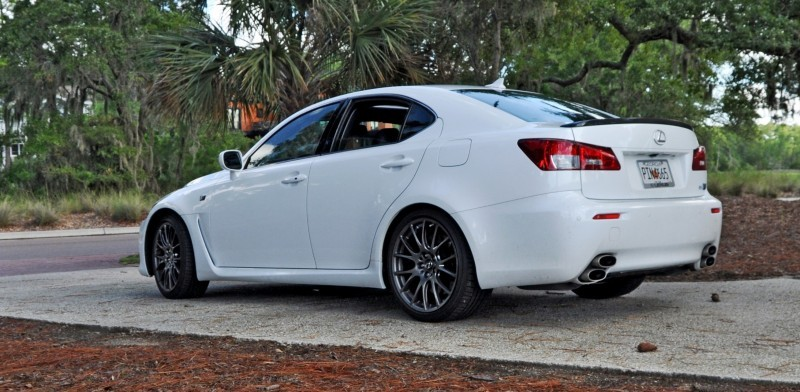 Road Test Review 2014 Lexus IS-F Is AMAZING 18