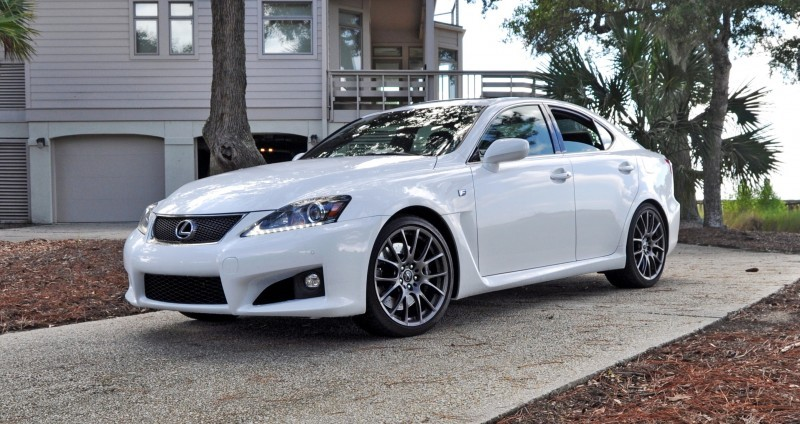 Road Test Review 2014 Lexus IS-F Is AMAZING 22