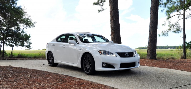 Road Test Review 2014 Lexus IS-F Is AMAZING 3