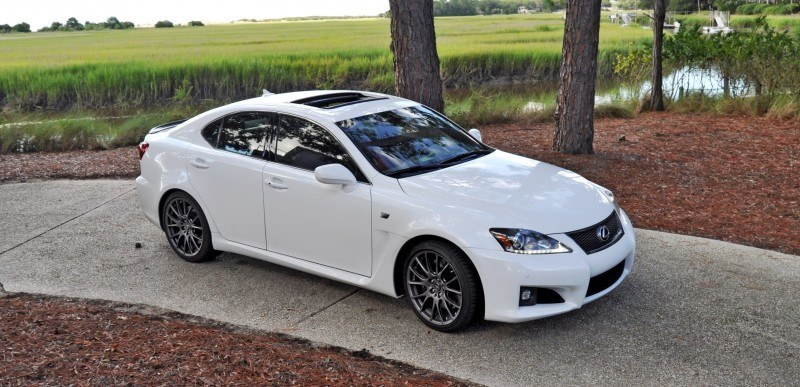 Road Test Review 2014 Lexus IS-F Is AMAZING 9