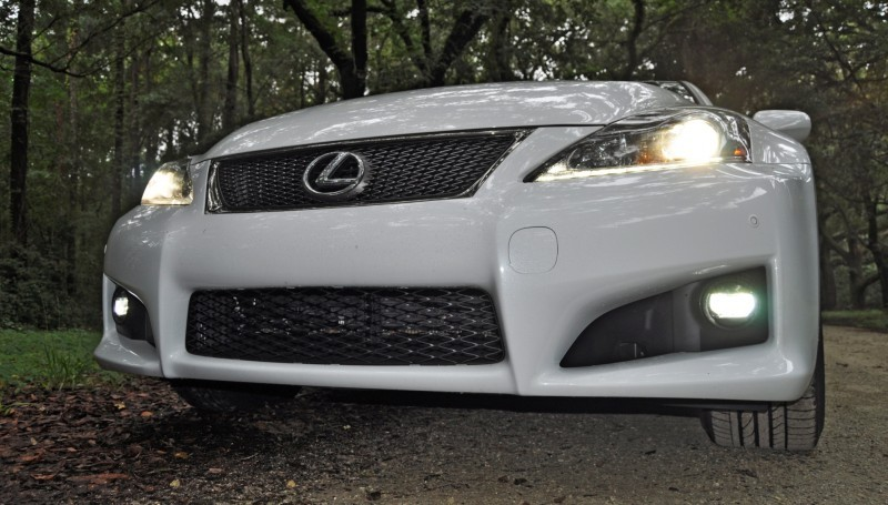 Road Test Review 2014 Lexus IS-F Is AMAZING Fun - 416HP 5.0L V8 Is Heaven in a Throttle 131