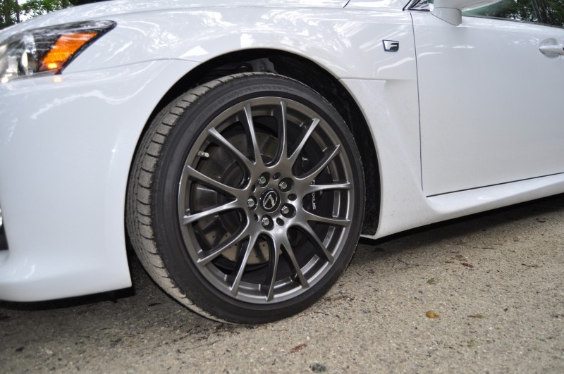 Road Test Review 2014 Lexus IS-F Is AMAZING Fun - 416HP 5.0L V8 Is Heaven in a Throttle 138