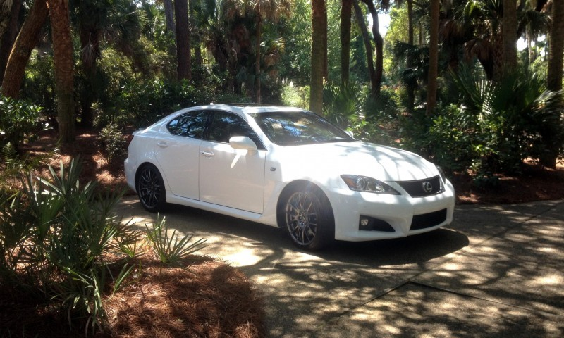 Road Test Review 2014 Lexus IS-F Is AMAZING Fun - 416HP 5.0L V8 Is Heaven in a Throttle 146