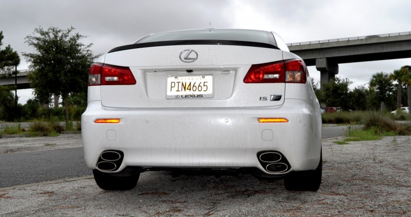 Road Test Review 2014 Lexus IS-F Is AMAZING Fun - 416HP 5.0L V8 Is Heaven in a Throttle 20