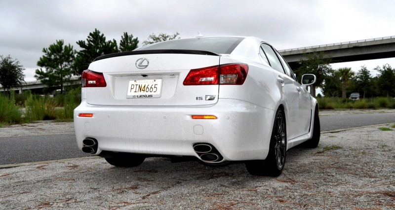 Road Test Review 2014 Lexus IS-F Is AMAZING Fun - 416HP 5.0L V8 Is Heaven in a Throttle 21