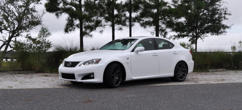 Road Test Review 2014 Lexus IS-F Is AMAZING Fun - 416HP 5.0L V8 Is Heaven in a Throttle 23