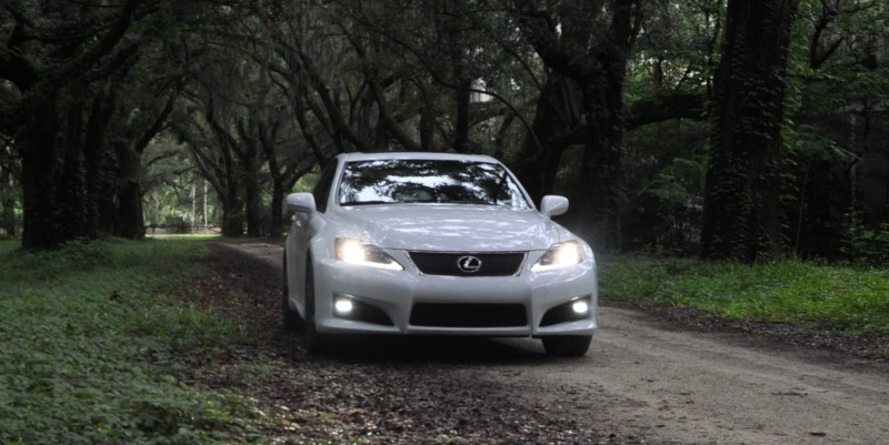Road Test Review 2014 Lexus IS-F Is AMAZING Fun - 416HP 5.0L V8 Is Heaven in a Throttle 26