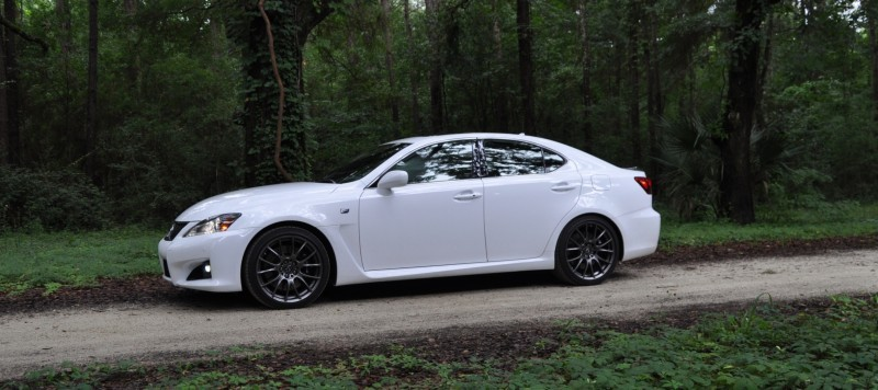 Road Test Review 2014 Lexus IS-F Is AMAZING Fun - 416HP 5.0L V8 Is Heaven in a Throttle 30