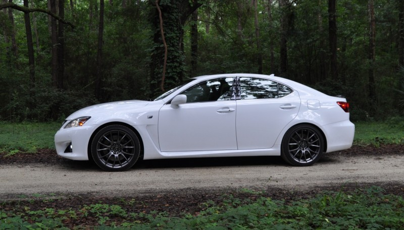 Road Test Review 2014 Lexus IS-F Is AMAZING Fun - 416HP 5.0L V8 Is Heaven in a Throttle 31