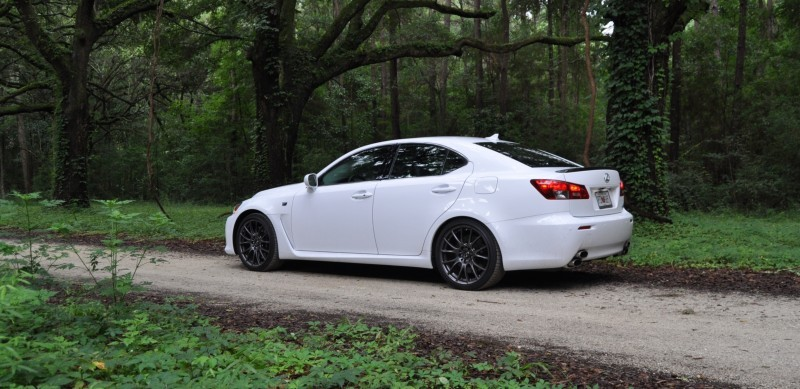 Road Test Review 2014 Lexus IS-F Is AMAZING Fun - 416HP 5.0L V8 Is Heaven in a Throttle 33