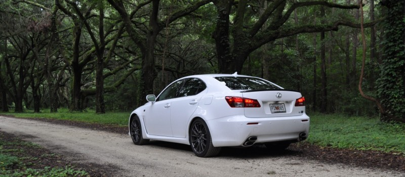 Road Test Review 2014 Lexus IS-F Is AMAZING Fun - 416HP 5.0L V8 Is Heaven in a Throttle 36