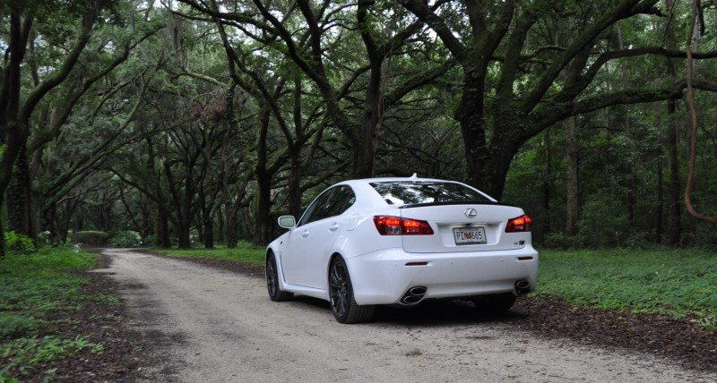 Road Test Review 2014 Lexus IS-F Is AMAZING Fun - 416HP 5.0L V8 Is Heaven in a Throttle 37