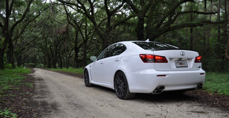 Road Test Review 2014 Lexus IS-F Is AMAZING Fun - 416HP 5.0L V8 Is Heaven in a Throttle 42