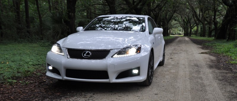 Road Test Review 2014 Lexus IS-F Is AMAZING Fun - 416HP 5.0L V8 Is Heaven in a Throttle 44