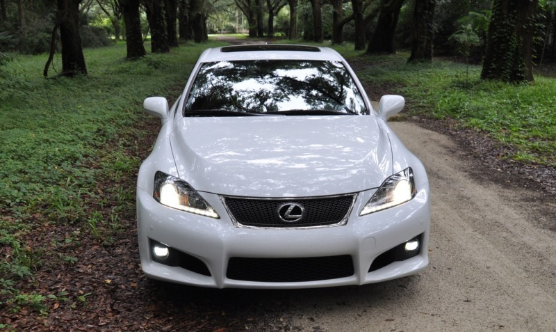 Road Test Review 2014 Lexus IS-F Is AMAZING Fun - 416HP 5.0L V8 Is Heaven in a Throttle 46