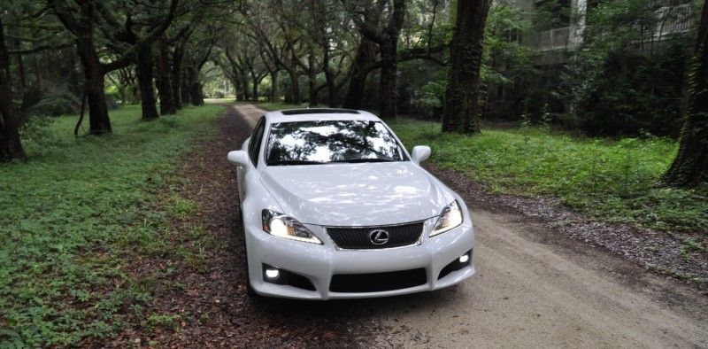 Road Test Review 2014 Lexus IS-F Is AMAZING Fun - 416HP 5.0L V8 Is Heaven in a Throttle 47