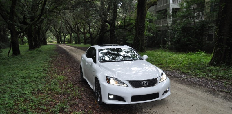 Road Test Review 2014 Lexus IS-F Is AMAZING Fun - 416HP 5.0L V8 Is Heaven in a Throttle 48