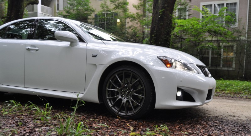 Road Test Review 2014 Lexus IS-F Is AMAZING Fun - 416HP 5.0L V8 Is Heaven in a Throttle 49