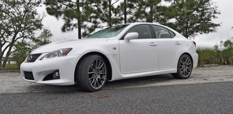 Road Test Review 2014 Lexus IS-F Is AMAZING Fun - 416HP 5878