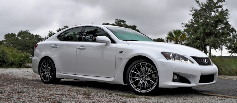 Road Test Review 2014 Lexus IS-F Is AMAZING Fun - 416HP 5_12