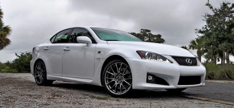 Road Test Review 2014 Lexus IS-F Is AMAZING Fun - 416HP 5_13