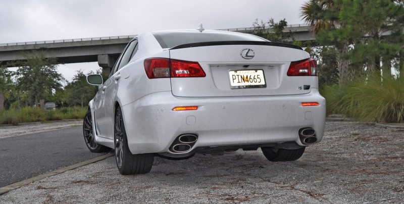Road Test Review 2014 Lexus IS-F Is AMAZING Fun - 416HP 5_19