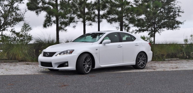 Road Test Review 2014 Lexus IS-F Is AMAZING Fun - 416HP 5_21