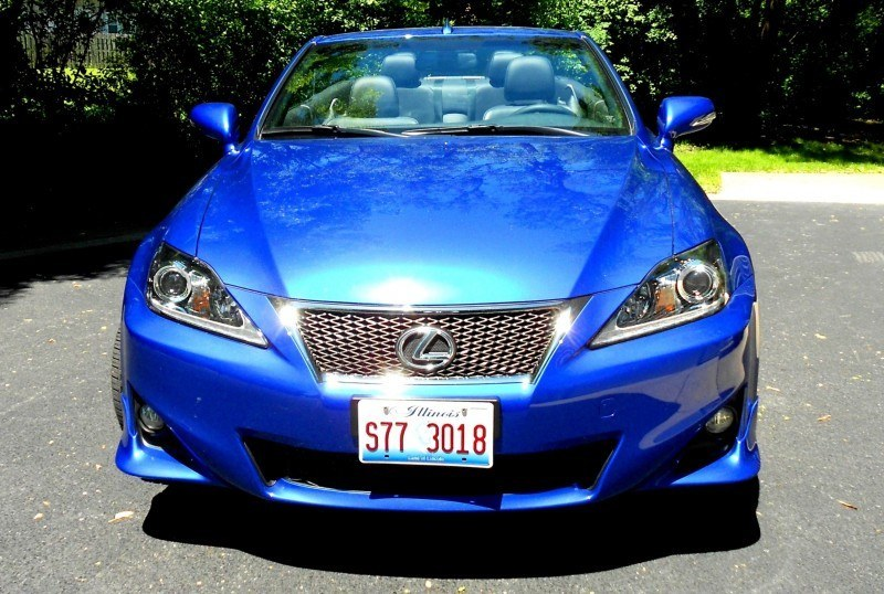 Road Test Review - 2014 Lexus IS250 F Sport Convertible Is Sexy, Top-Down Summer Cruiser 17