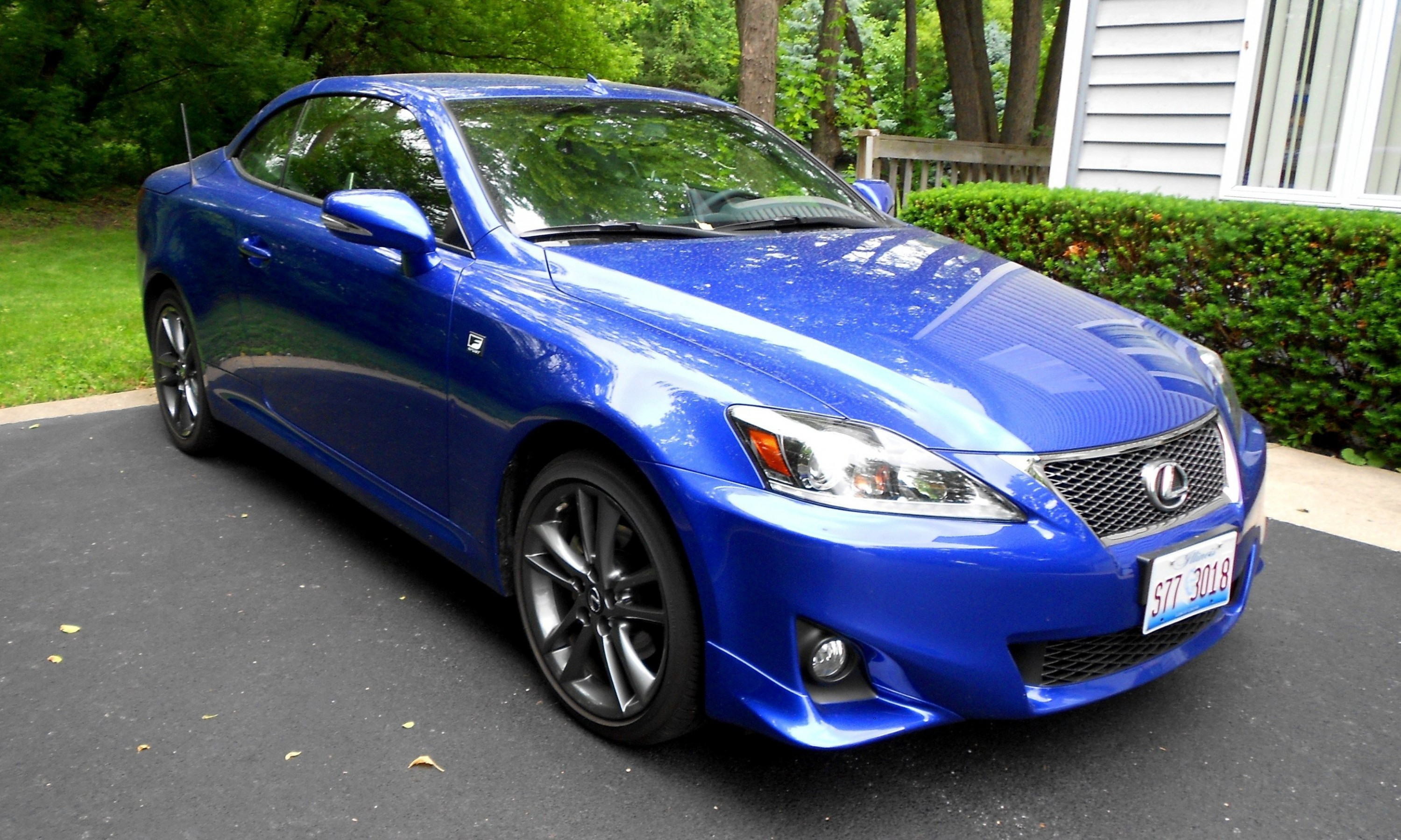road test review 2014 lexus is250 f sport convertible is sexy top down summer cruiser 28. Black Bedroom Furniture Sets. Home Design Ideas