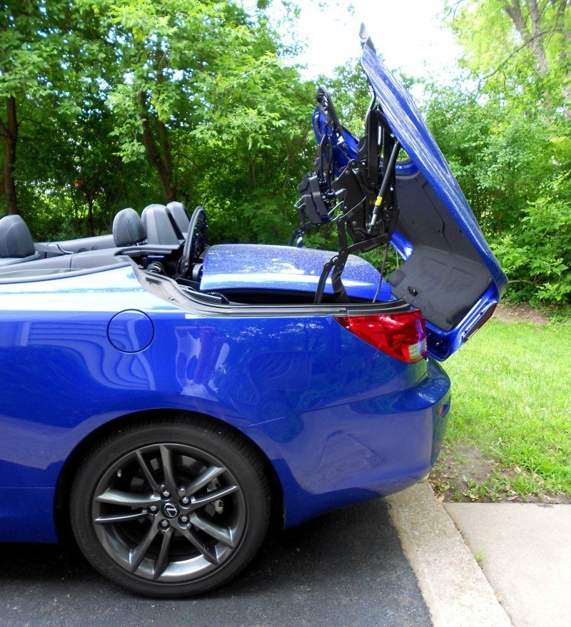 Road Test Review - 2014 Lexus IS250 F Sport Convertible Is Sexy, Top-Down Summer Cruiser 39