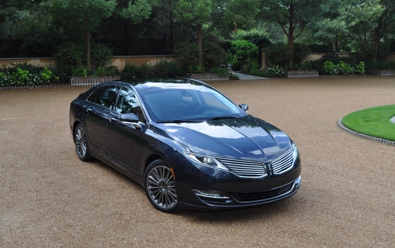 Road Test Review - 2014 Lincoln MKZ 3.7 AWD 110