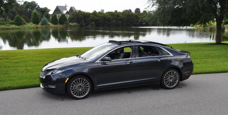 Road Test Review - 2014 Lincoln MKZ 3.7 AWD 45