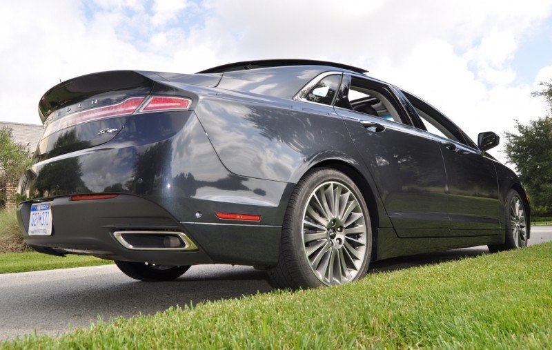 Road Test Review - 2014 Lincoln MKZ 3.7 AWD 55