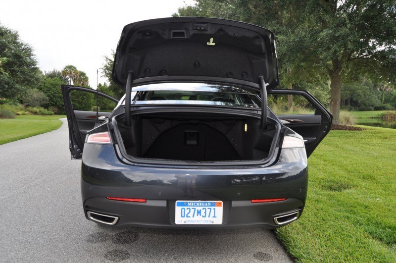 Road Test Review - 2014 Lincoln MKZ 3.7 AWD 75