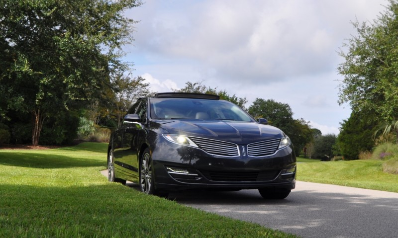 Road Test Review - 2014 Lincoln MKZ 3.7 AWD 8
