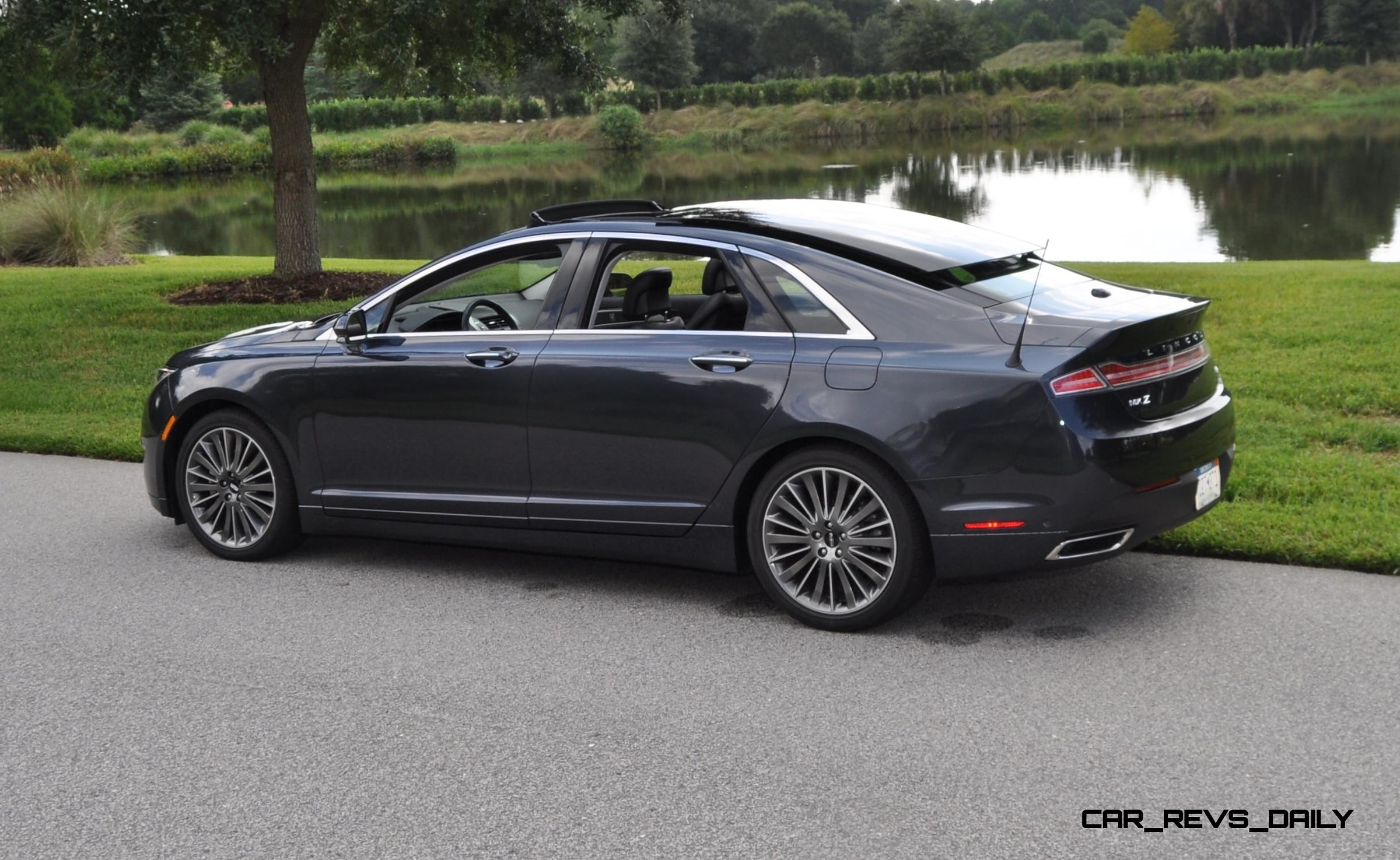 Road Test Review 2014 Lincoln Mkz 3 7 Awd Is Stylish